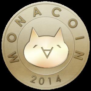 モナコインシンボルの画像