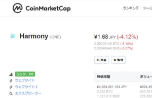コインマーケットキャップの画像